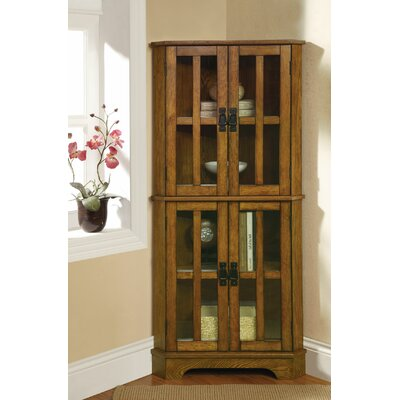 Corner Curio Cabinet by Wildon Home ®