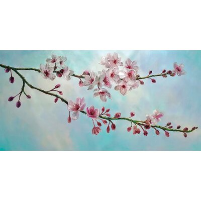Cherry Blossom Painting Print by Wildon Home ®