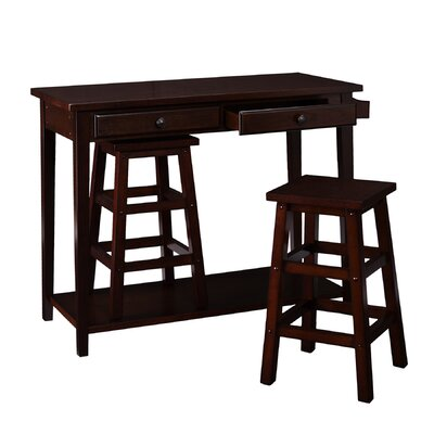 Wildon Home ® Sherwood 3 Piece Breakfast Table Set