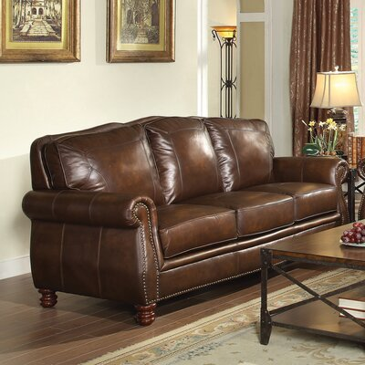 Leather Sofa by Wildon Home ®