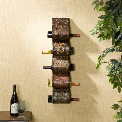 Dunbridge 5 Bottle Wall Mount Wine Rack by Wildon Home ®