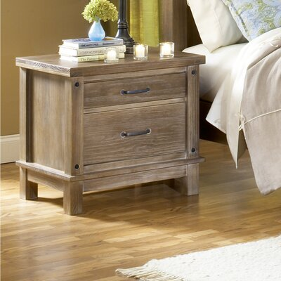 Wildon Home ® Leadville 2 Drawer Nightstand