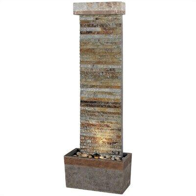 Wilton Natural Slate Horizontal Floor Fountain by Wildon Home ®