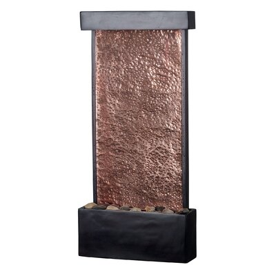 Copper Falling Water Table-Wall Fountain by Wildon Home ®