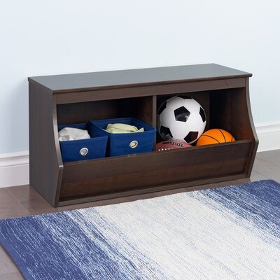 Wildon Home ? Stackable 2 Bin Storage Cubby Storage Cubby