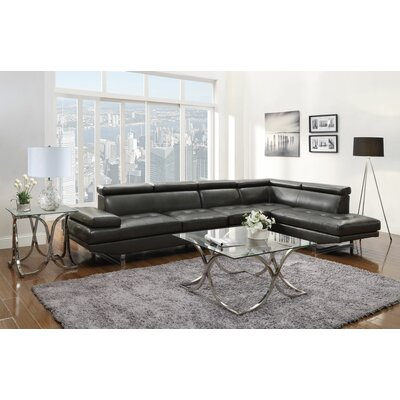 Howard Right Hand Facing Sectional by Wildon Home ®