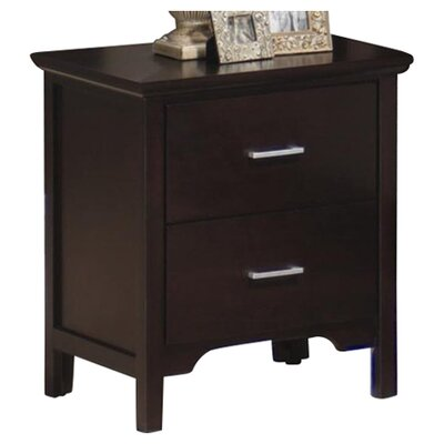 Wildon Home ® Morgan 2 Drawer Nightstand