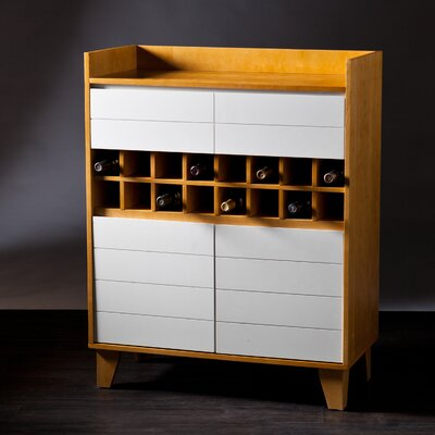 Peralta Bar Cabinet with Wine Storage by Wildon Home ®