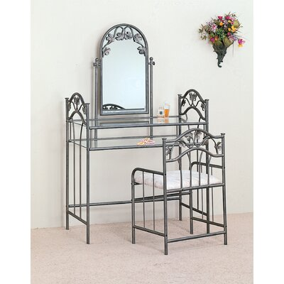 Wildon Home ® Cave Creek Vanity Set with Mirror