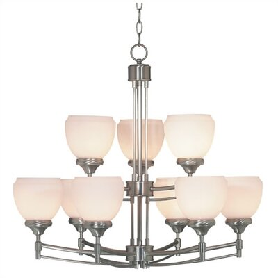 Wildon Home ® Paxton 9 Light Chandelier