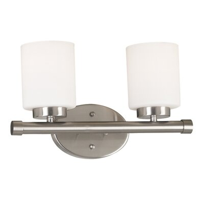 Wildon Home ® Heritage 2 Light Vanity Light