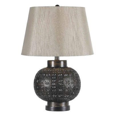 """Wildon Home ® Seville 24"""" H Table Lamp with Empire Shade"""