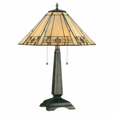 "Wildon Home ® Erwann 24.25"" H Table Lamp with Cone Shade"