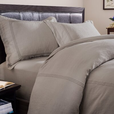 Wildon Home ® Linen Duvet Cover Collection