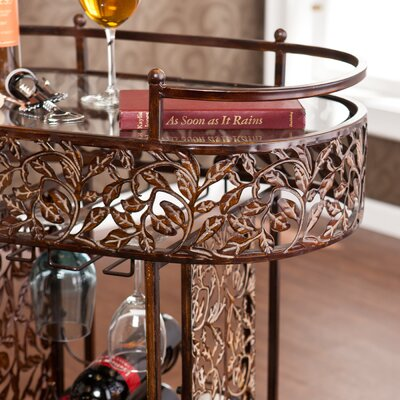 Wildon Home ® Joubert 9 Bottle Wine Rack