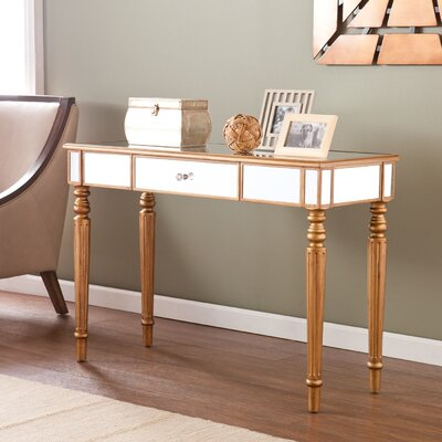 Huxley Mirrored Console Table by Wildon Home ®