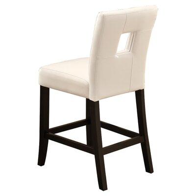 "Wildon Home ® Newcastle 24"" Bar Stool with Cushion"