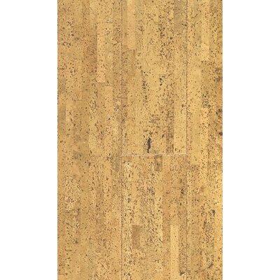 "Wildon Home ® 4-1/8"" Engineered Cork Hardwood Flooring in Volare Natural"