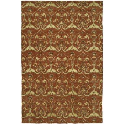Gramercy Handmade Terra Cotta Area Rug by Wildon Home ®