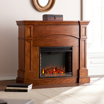 Petty Corner Convertible Electric Fireplace by Wildon Home ®