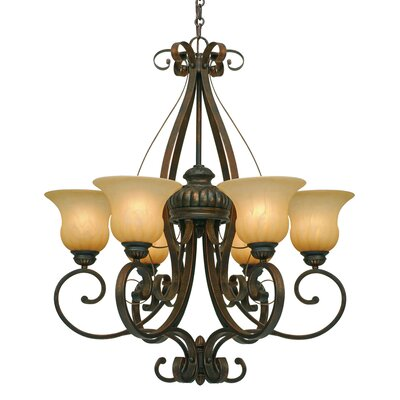 Larkin 6 Light Chandelier Product Photo