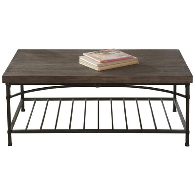 Wildon home r industrial coffee table reviews wayfair for Wayfair industrial coffee table