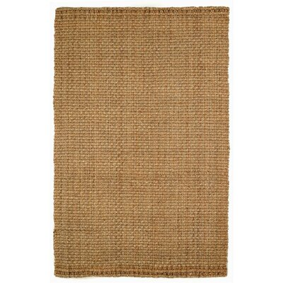 Denali Hand-Woven Natural Jute Area Rug by Wildon Home ®