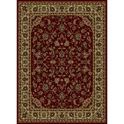 Chancey Burgundy/Brown Area Rug by Wildon Home ®