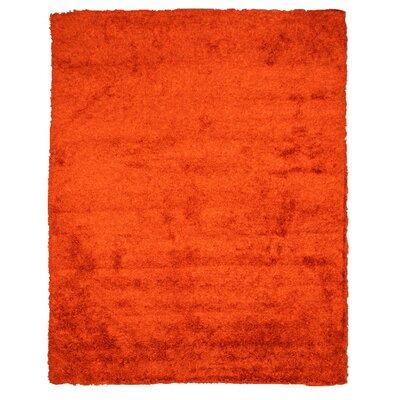 Crystalee Orange Area Rug by Wildon Home ®