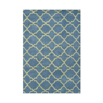 Adamarris Hand-Tufted Aqua Area Rug by Wildon Home ®