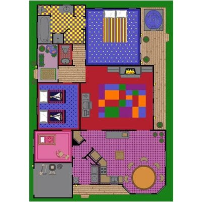 Berthe Area Rug by Wildon Home ®