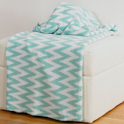 Destinie Woven Cotton Throw Blanket by Wildon Home ®