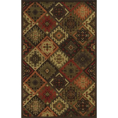 Alessa Hand-Tufted Brown Area Rug by Wildon Home ®