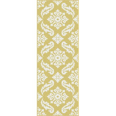 Deven Yellow Area Rug by Wildon Home ®