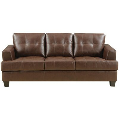 Wildon Home ® Gloucester Leather Sofa