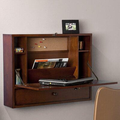 Wildon Home ® Grants Wall Mount Laptop Floating Desk
