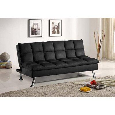 Pillow Top Microfiber Convertible Sofa by Wildon Home ®