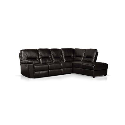 Right Hand Facing Reclining Sectional by Wildon Home ®
