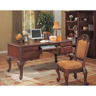 Wildon Home 174 Autumn Computer Desk With Keyboard Tray And