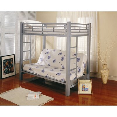 Eddyville Twin Over Full Bunk Bed with Built-In Ladder by Wildon Home ®