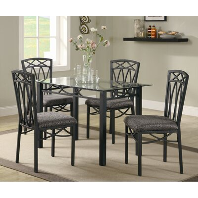 wildon home lakeview 5 piece dining set reviews wayfair