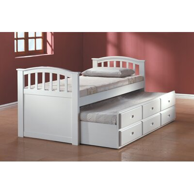 Wildon Home ® San Marino Captain Slat Bed