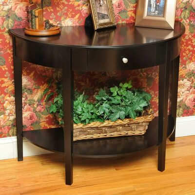 Bay Shore Large Half Moon Console Table by Wildon Home ®