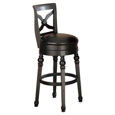 "Wildon Home ® Littleton 29"" Swivel Bar Stool with Cushion"