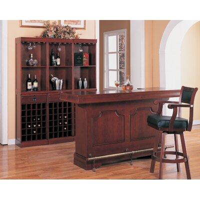 "Wildon Home ® Tiernan 29"" Swivel Bar Stool with Cushion"