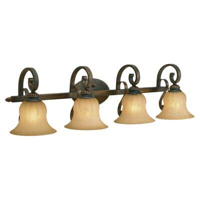 Wildon Home ® Starke 4 Light Bath Vanity Light