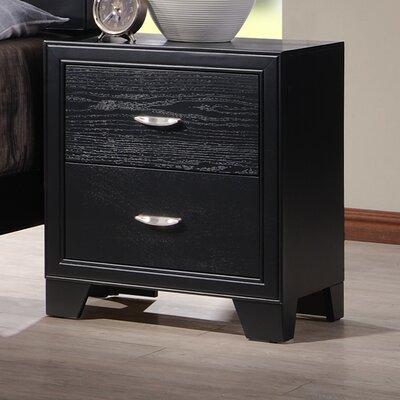 Verona 2 Drawer Nightstand by Wildon Home ®