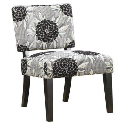 Wildon Home ® Toyah Flower Print Fabric Slipper Chair
