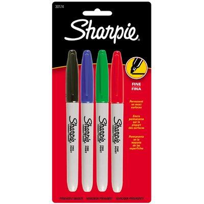 Sharpie Fine Tip Sharpie (4 Pack)
