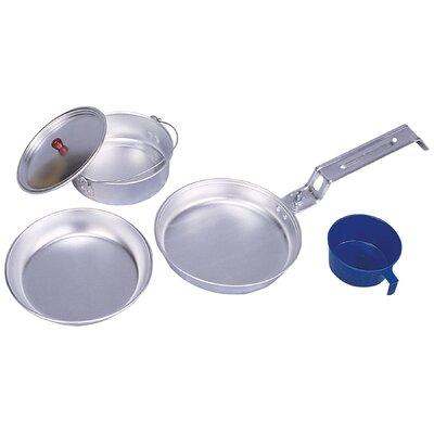 Stansport Aluminum 5-Piece Cookware Set